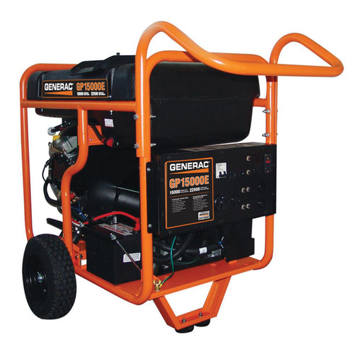 Generac GP15000E GP Series 15,000 Watt Portable Generator