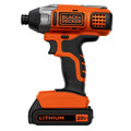 Black & Decker BDCI20C 20V MAX Cordless Lithium-Ion Impact Driver image number 1