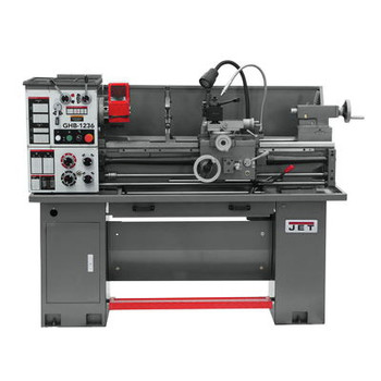 JET 323230 GHB-1236 Geared Head Bench Lathe with 200S DRO