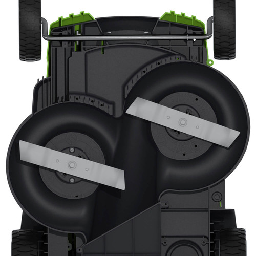 Greenworks 25302 40v G Max Li Ion 20 In 2 In 1 Twin Force Lawn Mower Tyler Tool