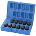 Grey Pneumatic 1211P 11-Piece 3/8 in. Drive Pipe Plug Standard Socket Set image number 1