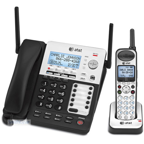 AT&T SynJ 4-Line Corded/Cordless Phone System