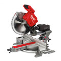 Milwaukee 2739-20 M18 FUEL Cordless Lithium-Ion 12 in. Dual Bevel Sliding Compound Miter Saw (Tool Only) image number 0