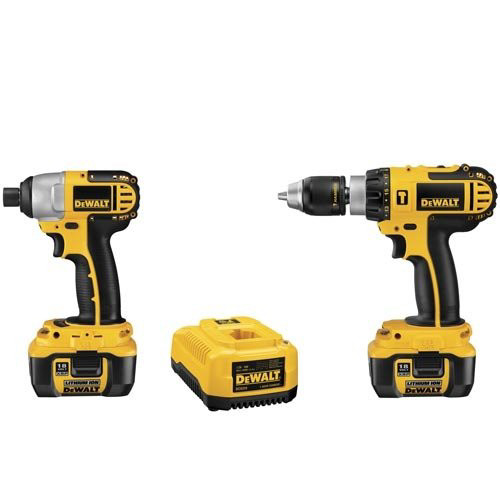 Factory Reconditioned Dewalt DCK274LR 18V XRP Cordless Lithium-Ion 1/2 in. Hammer Drill and Impact Driver Combo Kit
