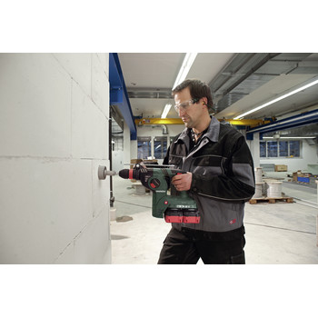 Metabo 600796840 KHA 36-18 LTX 32 36V 1-1/4 in. SDS-Plus Rotary Hammer (Tool Only) image number 1