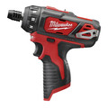 Milwaukee 2406-20 M12 12V Cordless Lithium-Ion 1/4 in. Screwdriver (Bare Tool)