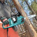 Makita XCU04PT1 18V X2 (36V) LXT Lithium-Ion Brushless 16 in. Cordless Chain Saw Kit (5 Ah) image number 13