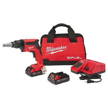 Milwaukee 2866-22CT M18 FUEL 2.0 Ah Cordless Lithium-Ion Drywall Screw Gun Kit