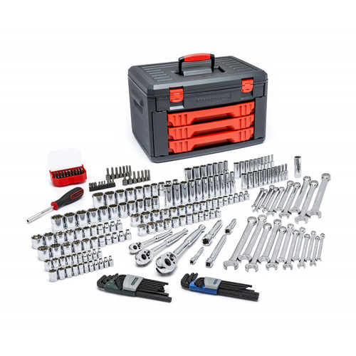 KD Tools 80940 219-Piece Master Tool Set with Drawer Style Carry Case image number 0