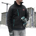 Makita DCJ205ZM 18V LXT Lithium-Ion Heated Jacket (Jacket Only) - Black, M image number 10
