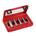 Milwaukee 49-22-8430 4-Piece 1-3/8 in. Tungsten Carbide Tooth Annular Cutter Set