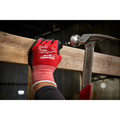 Milwaukee 48-22-8904B 12-Piece Cut Level 1 Nitrile Dipped Gloves - 2XL image number 3