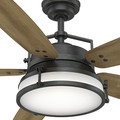 Casablanca 59359 56 in. Caneel Bay Aged Steel Ceiling Fan with Light and Wall Control image number 4