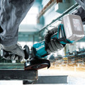 Makita XAG09Z 18V LXT Lithium-Ion Brushless Cordless 4-1/2 in. / 5 in. Cut-Off/Angle Grinder with Electric Brake (Tool Only) image number 4