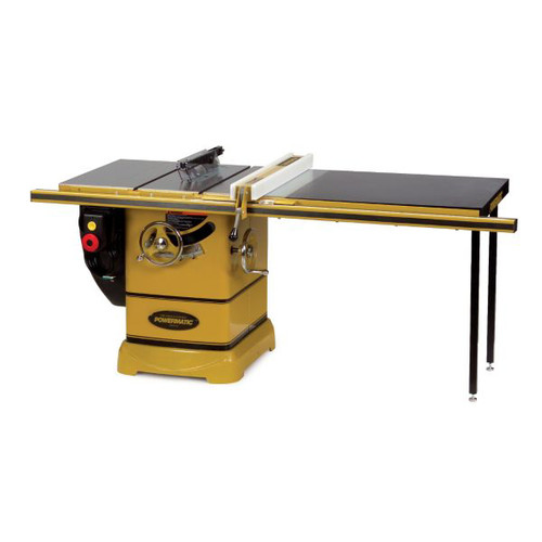 Powermatic PM2000 5 HP 10 in. Three Phase Left Tilt Table Saw with 50 in. Accu-Fence and Riving Knife