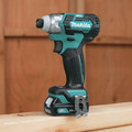 Factory Reconditioned Makita DT04R1-R CXT 12V Cordless Lithium-Ion 1/4 in. Brushless Impact Driver Kit with (2) 2 Ah Batteries image number 8