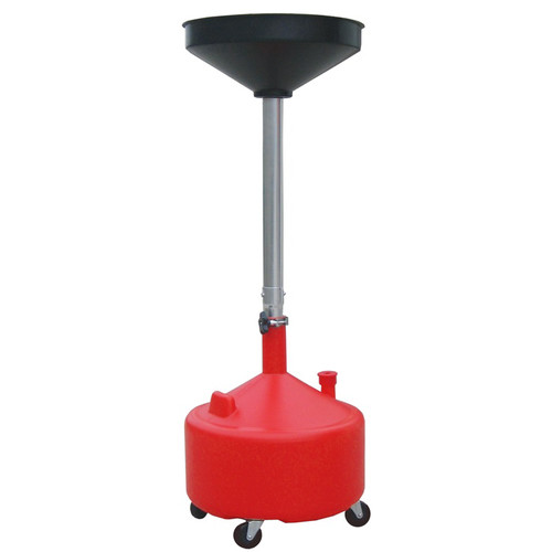 ATD 5180 8 Gallon Plastic Waste Oil Drain with Casters