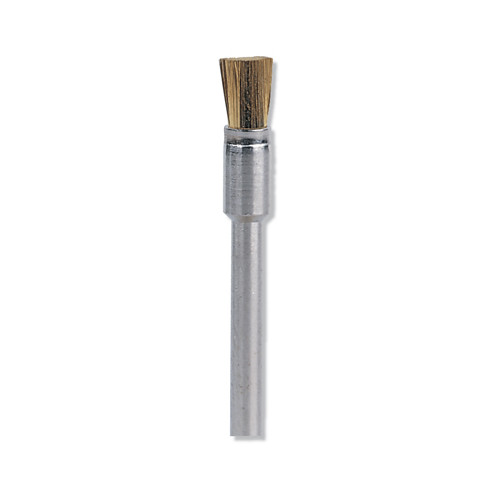 Dremel 537 1/8 in. End Shape Brass Brush