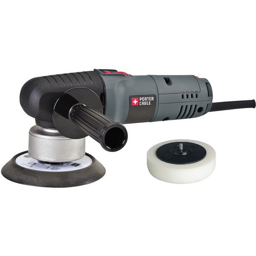 Porter-Cable 7346SP 6 in. Variable Speed Random Orbit Sander with Polishing Pad