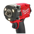 Milwaukee 2854-22 M18 FUEL Lithium-Ion Brushless Compact 3/8 in. Cordless Impact Wrench Kit with Friction Ring (5 Ah) image number 3