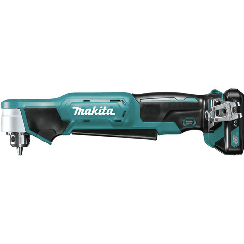 Makita AD03R1 12V max CXT Lithium-Ion 3/8 in. Cordless Right Angle Drill Kit (2 Ah) image number 2