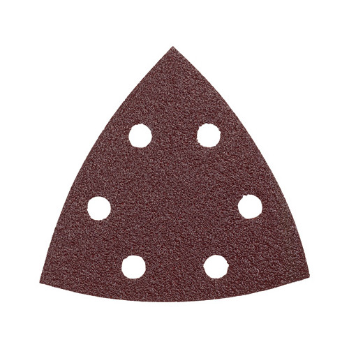 Bosch SDTR060 60-Grit Red Detail Triangular Hook and Loop Sanding Sheets (5-Pack)