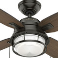 Hunter 59214 52 in. Ocala Noble Bronze Ceiling Fan with Light image number 5