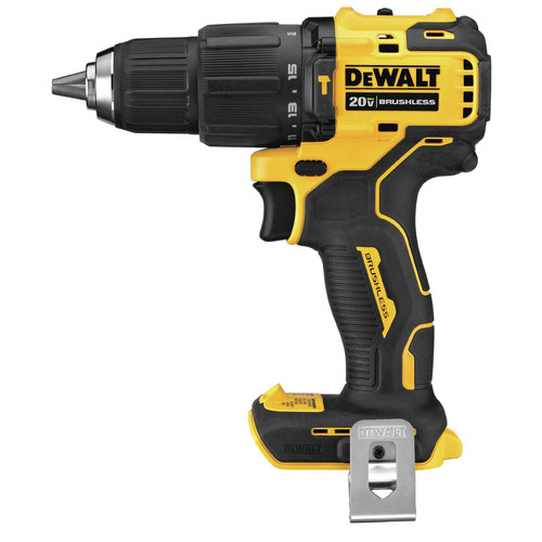 Dewalt DCD709B ATOMIC 20V MAX Lithium-Ion Brushless Compact 1/2 in. Cordless Hammer Drill (Tool Only) image number 0