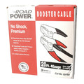 Coleman Cable 088600008 2/1 AWG 20 ft. Booster Cables - Black image number 1