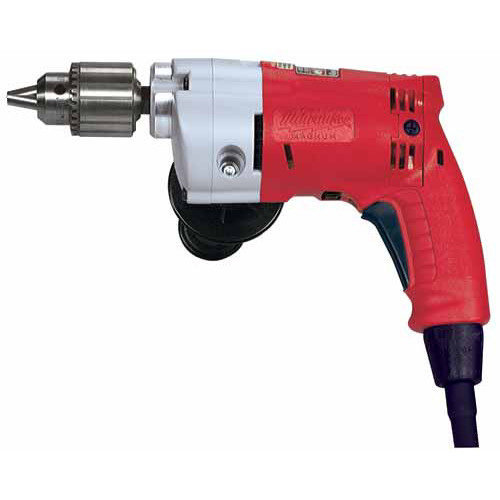 Milwaukee 0244-1 5.5 Amp 0 - 700 RPM 1/2 in. Corded Magnum Drill with Keyed Chuck image number 0