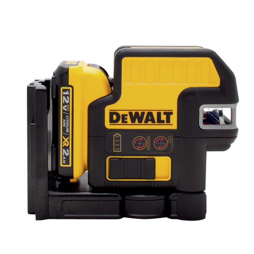 Dewalt DW0822LR 12V MAX Compatible 2 SPOT plus Cross Line Red Laser