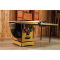 Powermatic PM25350WK 2000B Table Saw - 5HP/3PH 230/460V 50 in. RIP with Accu-Fence and Workbench image number 2
