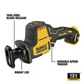 Dewalt DCS312B XTREME 12V MAX Brushless Lithium-Ion One-Handed Cordless Reciprocating Saw (Tool Only) image number 2
