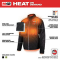 Milwaukee 203B-20XL M12 12V Li-Ion Heated AXIS Jacket (Jacket Only) - XL image number 3