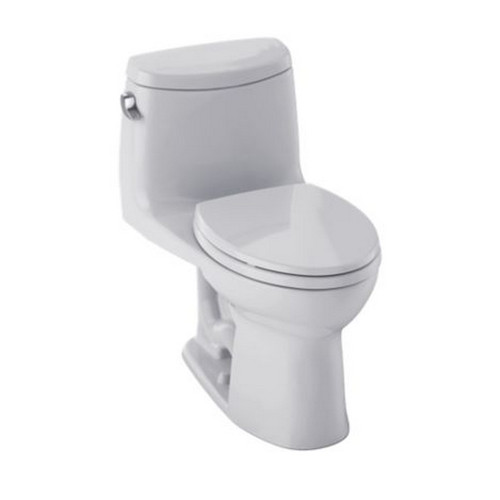 TOTO MS604114CEFG#11 UltraMax II Elongated 1-Piece Floor Mount Toilet (Colonial White)