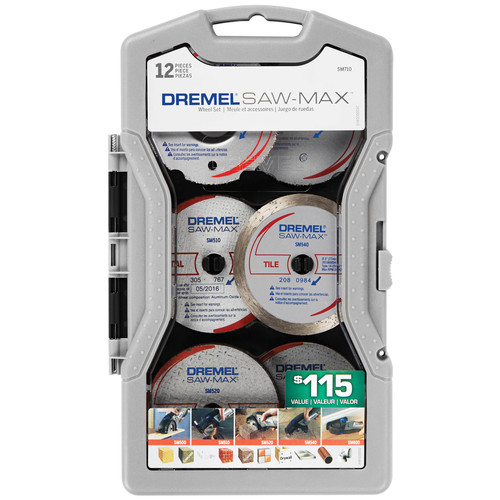 Dremel SM710 Saw-Max 12-Piece Blade Set