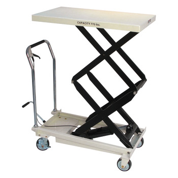 JET DSLT-770 770 lb. DSLT Series Double Scissor Lift Table