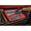 Milwaukee 48-22-9010 47-Piece SAE and Metric 1/2 in. Drive Ratchet and Socket Set image number 10