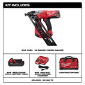 Milwaukee 2743-21CT M18 FUEL Cordless Lithium-Ion 15-Gauge Brushless Finish Nailer Kit image number 1