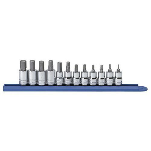 GearWrench 80580 12-Piece 3/8 in. Drive Metric Hex Bit Socket Set image number 0