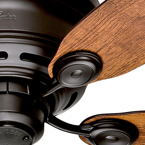 Hunter 51061 42 in. Low Profile IV New Bronze Ceiling Fan image number 4