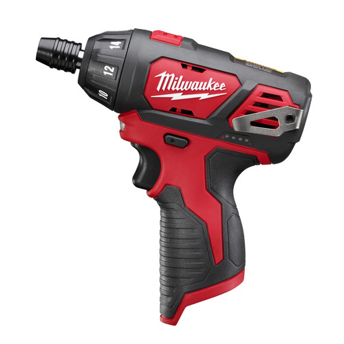 Factory Reconditioned Milwaukee 2401-80 M12 12V Cordless Lithium-Ion Sub-Compact Screwdriver (Bare Tool)