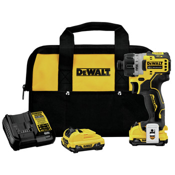 Factory Reconditioned Dewalt DCF601F2R 12V MAX XTREME Brushless Lithium-Ion 1/4 in. Cordless Screwdriver Kit (2 Ah)