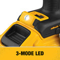Dewalt DCD998W1 20V MAX XR Brushless Lithium-Ion 1/2 in. Cordless Hammer Drill Driver with POWER DETECT Tool Technology Kit (8 Ah) image number 8