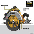 Dewalt DCS573B 20V MAX Brushless Lithium-Ion 7-1/4 in. Cordless Circular Saw with FLEXVOLT ADVANTAGE (Tool Only) image number 6