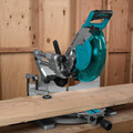 Makita LS1019L 10 in. Dual-Bevel Sliding Compound Miter Saw with Laser image number 6