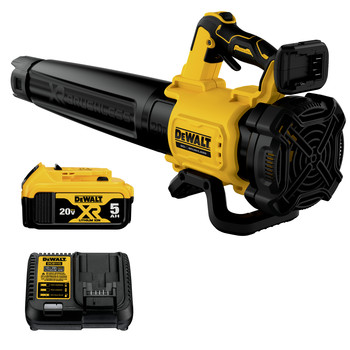 Dewalt DCBL722P1 20V MAX XR Lithium-Ion Brushless Handheld Cordless Blower Kit (5 Ah)