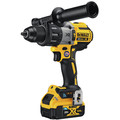 Dewalt DCD997P2BT 20V MAX XR Lithium-Ion Compact 1/2 in. Cordless Hammer Drill Kit with Tool Connect (5 Ah) image number 2