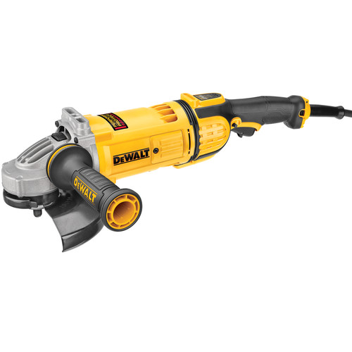 Dewalt DWE4597 7 in. 8,500 RPM 4.9 HP Angle Grinder with Lock-On