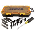 Dewalt DWMT73808 70-Piece Stackable 1/4 in. Multi-Bit and Nut Driver Set image number 0